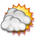 It is forcast to be Mostly Cloudy at 10:00 PM CDT on May 23, 2013
