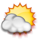It is forcast to be Partly Cloudy at 10:00 PM CDT on May 24, 2013